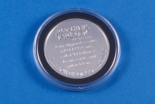 Manatee Coin Back